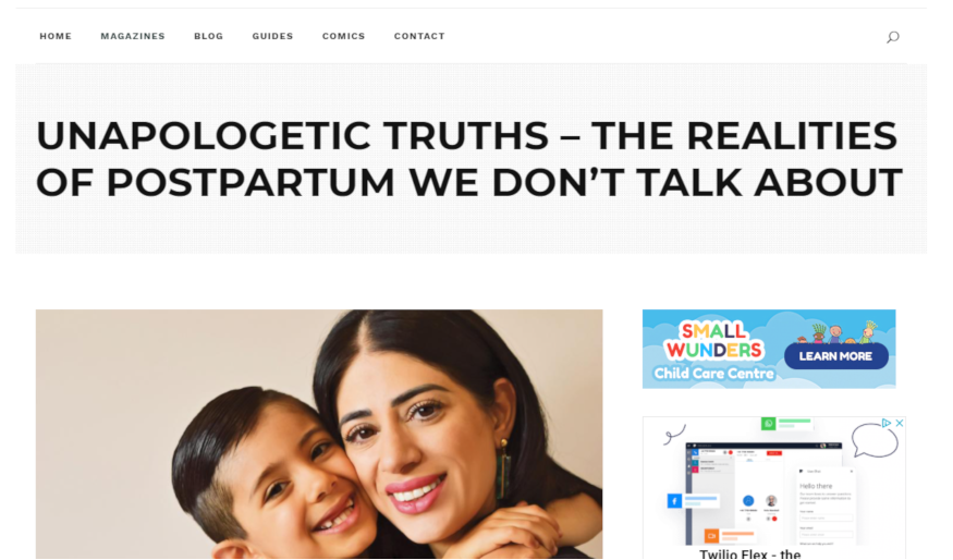 yalda with unapologetic truths in city parent - stylEsteem